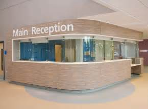 Reception Desk Screen T Manners Reception Desks Screens And Counters Gallery