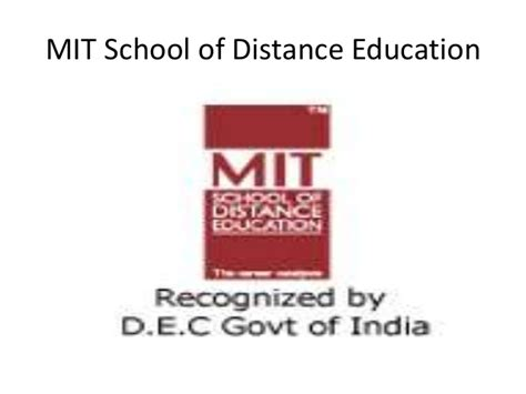 Mit Distance Learning Mba by Uts Academic Alliances