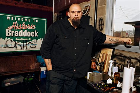 john fetterman tattoos mayor of rust fetterman nytimes
