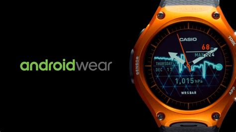 Casio Smartwatch Android Casio Releasing Its Android Wear Smartwatch The