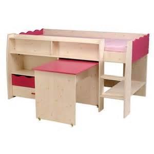 combine lit bureau pin chambres enfants comparer les