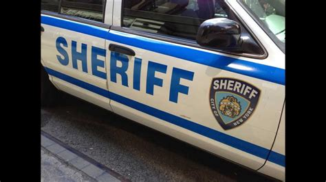 New York City Sheriff S Office by Elusive City Of New York Sheriff S Unit At 44th St