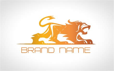 Design Firm Names by Modern Heraldic Lion Logo For Sale Lobotz