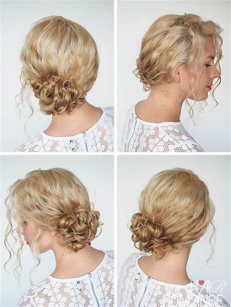 30 curly hairstyles in 30 days day 8 hair romance 30 curly hairstyles in 30 days day 1 hair romance