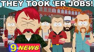 South park they took our jobs pile goobacks official south park