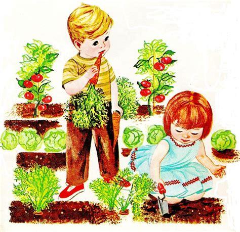 arts in the garden vegetable garden clip cliparts co