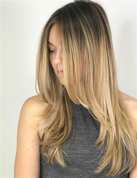 potongan rambut layer panjang  trend model rambut