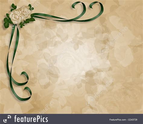 Wedding Or Party Invitation Background