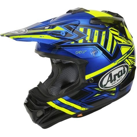 arai motocross helmets arai mxv helmet yellow dirtbikexpress