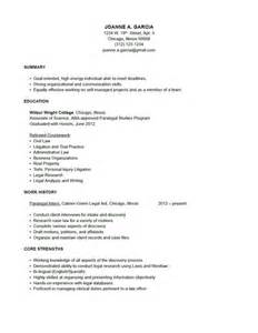 How To Write An Entry Level Resume With No Experience Resume On Pinterest Paralegal Resume Templates And