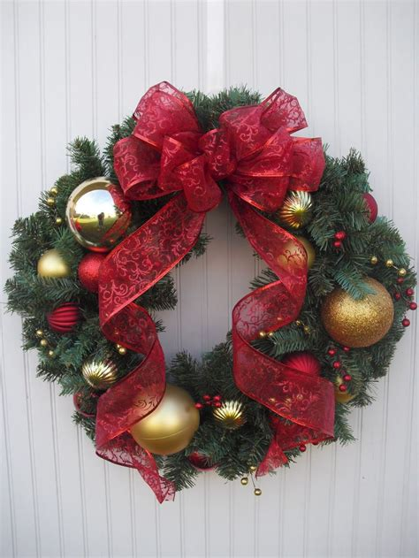 best 10 ornament wreath ideas on pinterest ornament