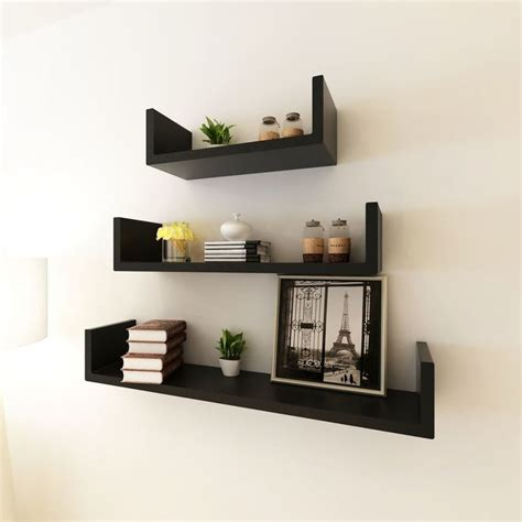 mensole libri mensole a muro per libri mensole per pareti nero mdf libri