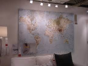 World Map Ikea by Ikea Premiar World Map 78 75x55 Quot On Canvas This One