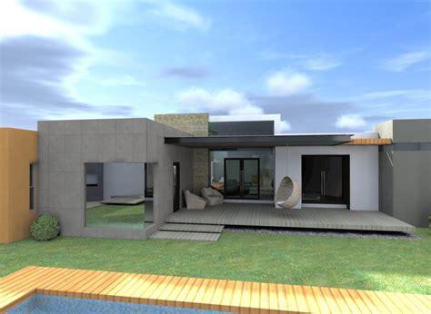 planta casas fachadas de casas de una planta