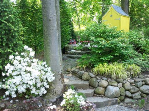 Suburban Garden Ideas Suburban Woodland Garden Traditional Landscape Other Metro By Miracles Designs