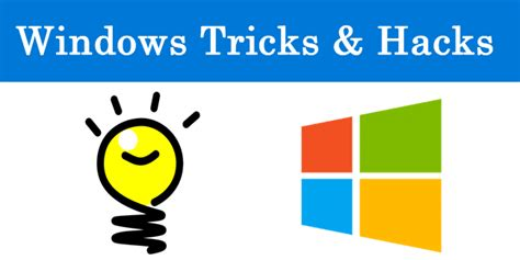 best pc tricks 2018 and pc hacks best windows tricks and hacks 2018 top 20 tips safe