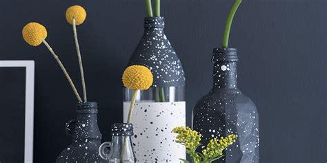 DIY déco : un vase moucheté   Marie Claire
