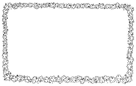 clipart spring time borders by clipart queen teachers pay teachers