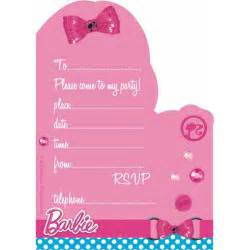 barbie party invitations party invitations the party company