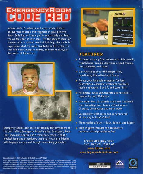 emergency room code 3 emergency room code critical er simulation pc windows mac new 020626714112 ebay