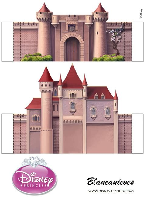Castle Papercraft - 476 best images about fairytale snow white on