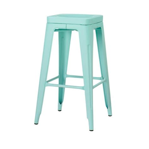 home decorators bar stools home decorators collection garden 30 in h blue backless