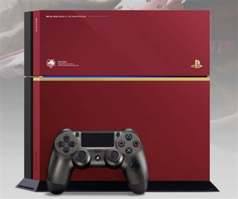 Console Ps 4 Metal Gear Solid V The Phantom Edition mgs v the phantom ps4 console us release hopes product reviews net