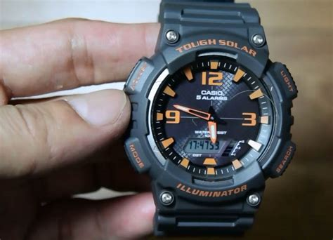 Jam Casio Aq S810w 3av Original casio standard aq s810w 8av indowatch co id
