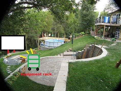 steep hill backyard ideas 17 best images about yard on gardens