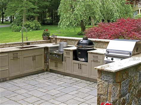 modular outdoor kitchen islands outdoor prefab kitchen bar lovely interesting gray granite countertop plus awesome modular
