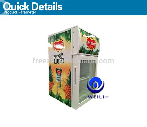 bull table top fridge cold energy drinks desktop mini display cooler fridge for