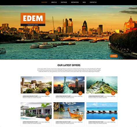 tourism templates free 21 travel joomla themes templates free premium
