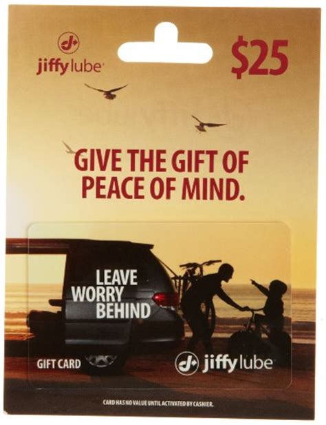 Oil Change Gift Card - expired go to jiffy lube for oil changes get 50 of gift cards for 40 jungle