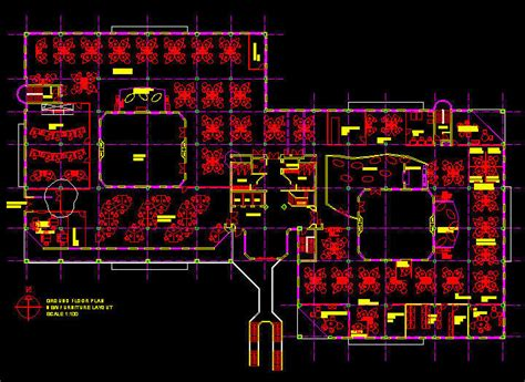 office layout plan dwg cad building template 2700sqm office floor layout 2
