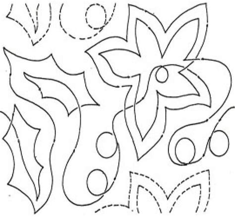 poinsettia coloring page pdf 10 echo holly poinsettia pantograph az coloring pages