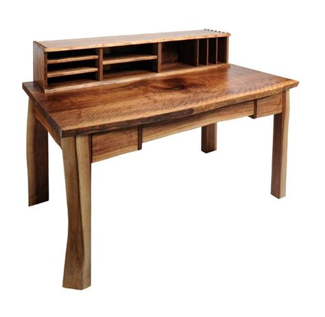 live edge writing desk high end furniture design in colorado t scholl