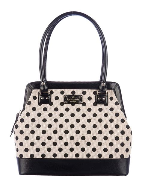 Katespade Bag Polkadot by Kate Spade New York Polka Dot Canvas Handle Bag W Tags