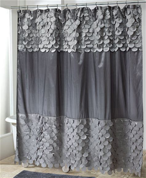 macys shower curtains avanti bath accessories flutter dots shower curtain