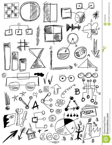 doodle for free design elements business stock illustration