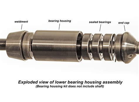 motor parts and bearings complete bearing system kit