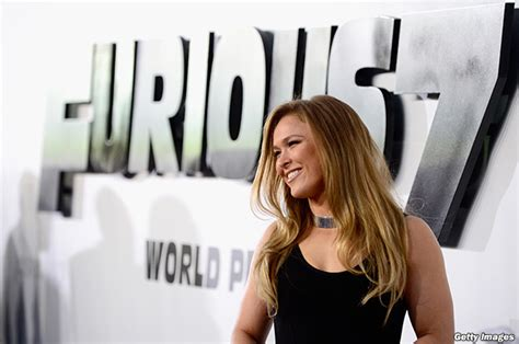 tattoo girl in fast and furious 7 photo gallery ufc ch ronda rousey on red carpet for