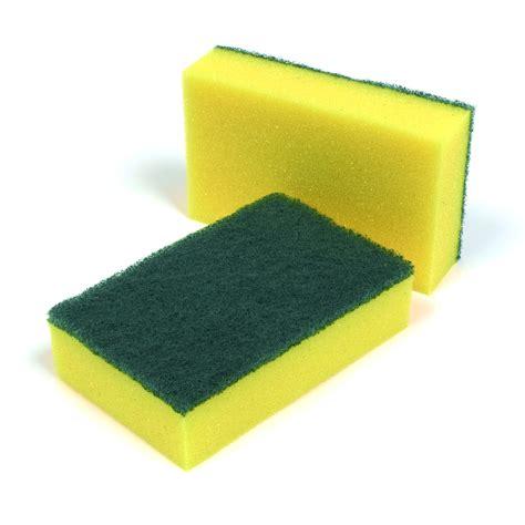 spongebob cucina sponge scourers pack of 10 janitorial direct ltd