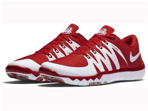 ohio state nike shoes ohio state buckeyes nike ncaa s free trainer 5 0 v6