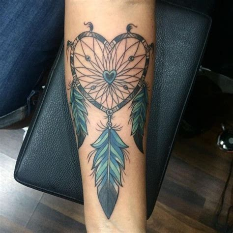 dreamcatcher tattoos on arm best 25 dreamcatcher tattoos ideas on