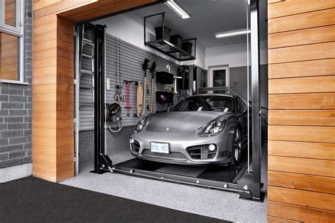 Hgtv Home Design Youtube by Modern Garages Design With Red Accents Garage Storage