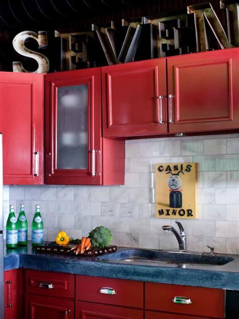 ideas  decorating  kitchen cabinets hgtv