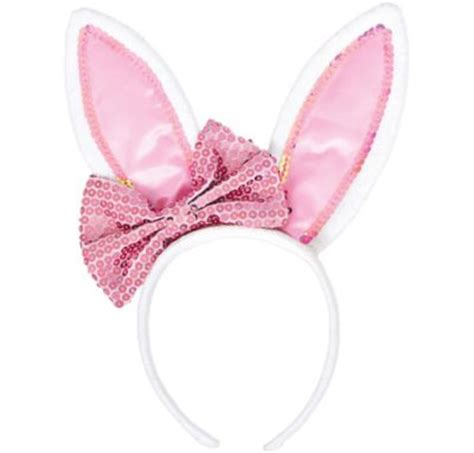 Bow Bunny Ears Headband Party City
