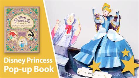 disney princess a magical pop up world by matthew reinhart youtube