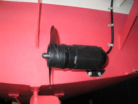 stern boat motor homemade stern thruster the hull truth boating and