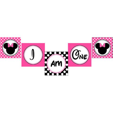 printable minnie mouse birthday banner free 4 best images of minnie mouse birthday banner printable